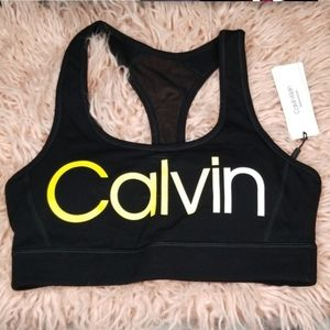 Calvin Klein Sports Bra Size Small